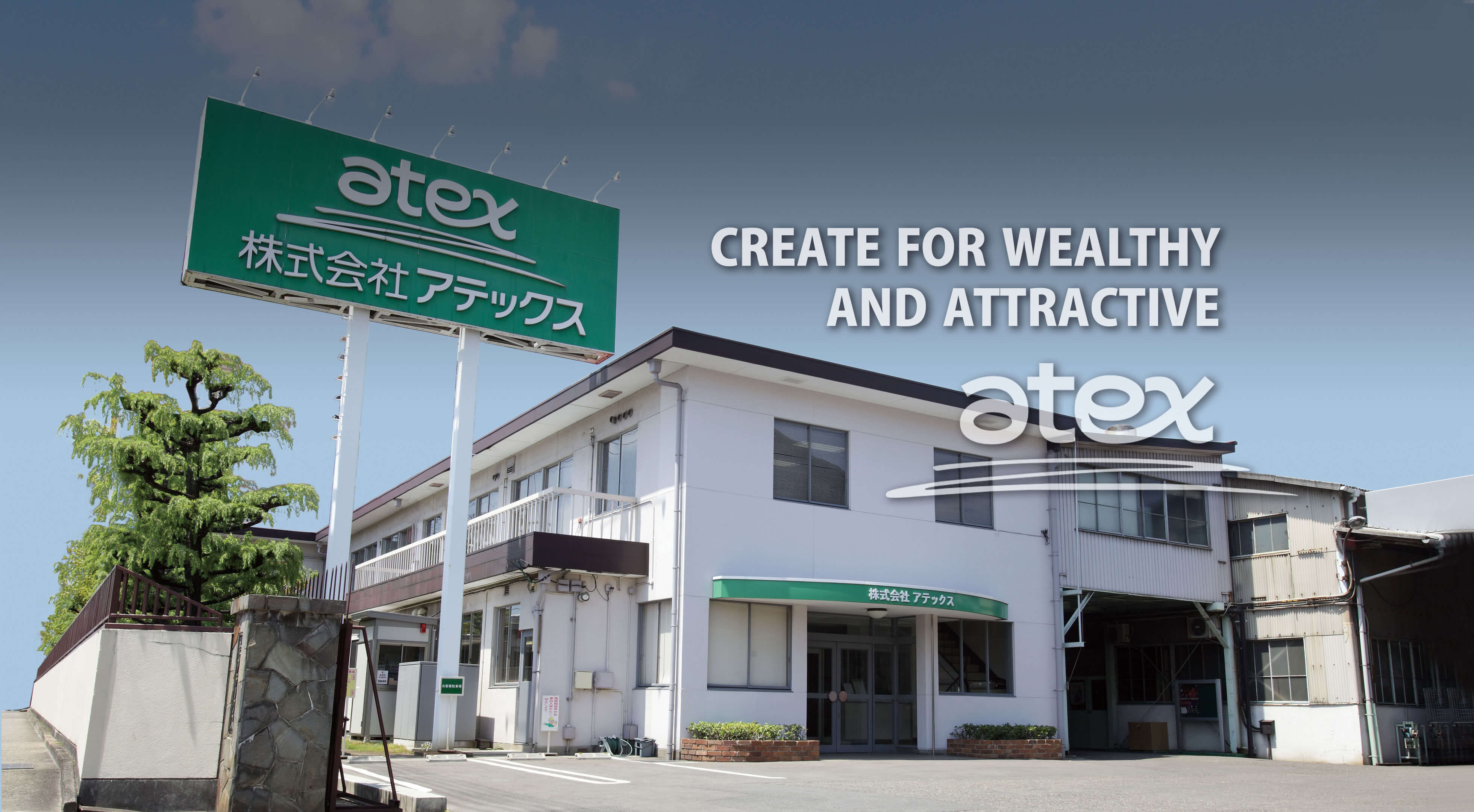 CREATE FOR WEALTHY AND ATTRACTIVE.